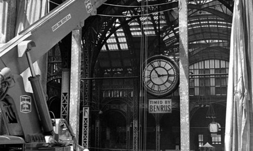 1965: Pennsylvania Station Demolition, photo by Arthur Brower